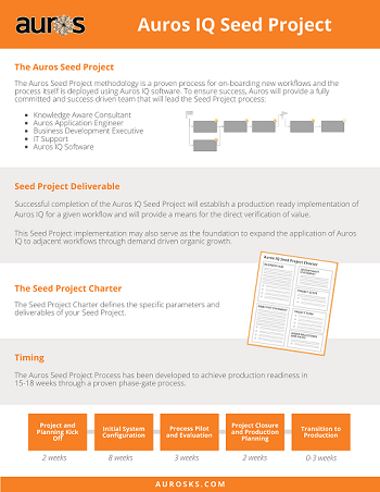 Auros IQ Seed Project Infographic