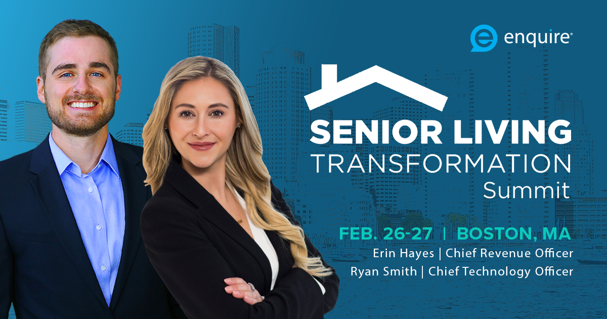Meet with Enquire at Senior Living Transformation Summit