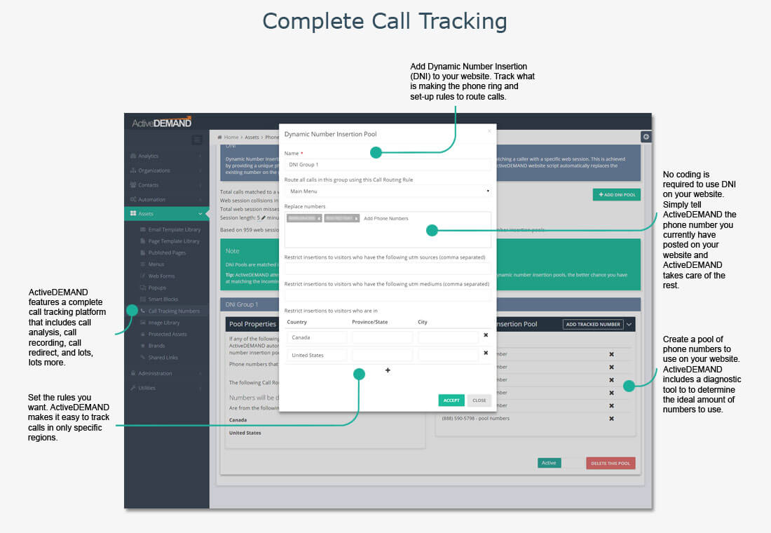 complete call tracking