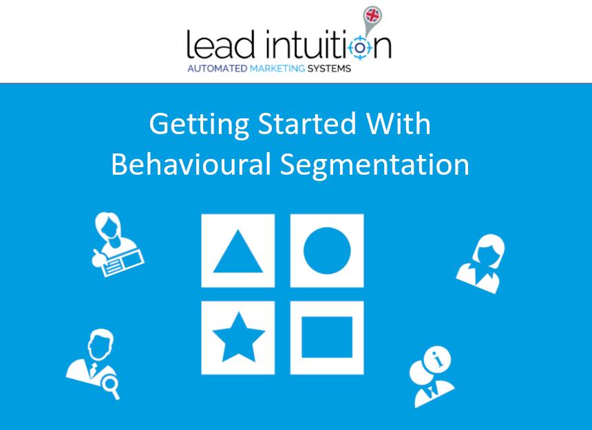 using filters to achieve behavioural segmentation