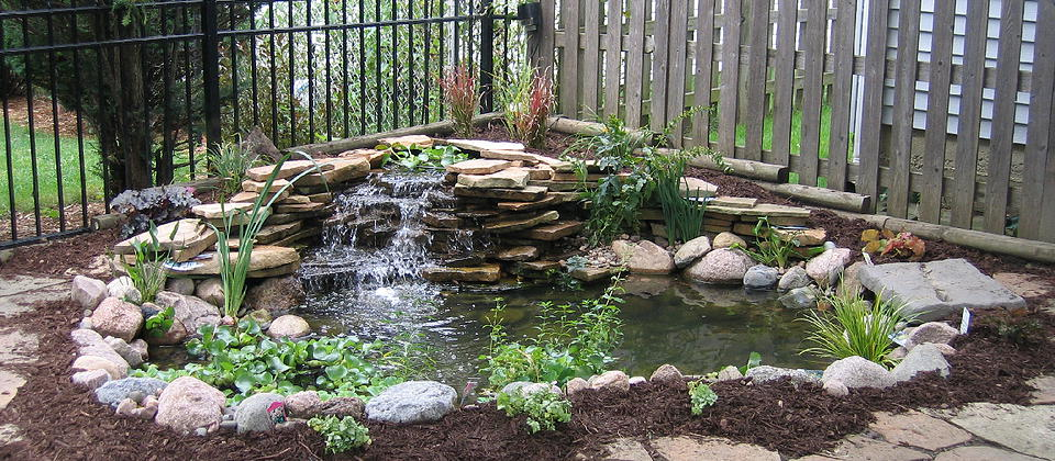 Landscape Water Feature Edmonton